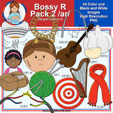 Clip Art R Controlled Vowels Bossy R Pack 2 Ar English Unite