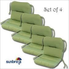 durable sunbrella outdoor cushions for patio decor sunbrella outdoor cushions set of 4 and patio
