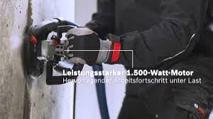 <b>Шлифмашина по бетону Bosch</b> GBR 15 CA - YouTube