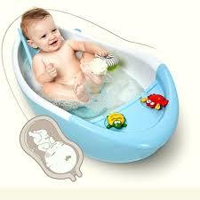 child bathtub infant newborn to toddler bath shower baby bath tub temperature sensing bathtub children spinal child bathtub