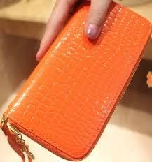 Where to buy BG1163 Korean Simple Zipper <b>Crocodile Pattern PU</b> ...