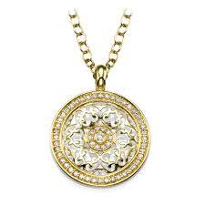 picture of 0 47 total carat designer round diamond pendant