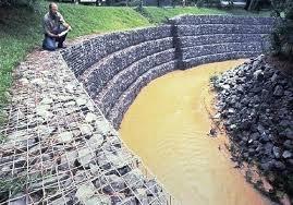 Gabion River Stream And Coastal Erosion Control Uk
