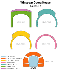 Winspear Opera House Seating Chart Margot And Bill Winspear Opera House Dallas Tickets