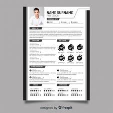 Modern Picture Resume Editable Cv Format Download Psd File Free Download