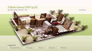 Small Picture 5 Marla Single Story House Design In Pakistan YouTube