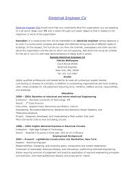 Electrical Engineer Resumes Objective For Resume Electrical Engineer Resume For Study 18