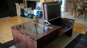 Impressive 13 Elegant And Simple Diy Computer Desk Diy And Crafts Regarding Cool  Computer Desk Modern
