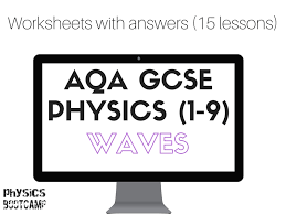 AQA GCSE Physics (1-9) Waves 15 worksheets by physicsbootcamp ...