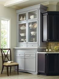 Corina Maple kitchen, shown in Graphite and Niagara, by ...