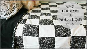 How To Sew A Patchwork Quilt - YouTube &  Adamdwight.com