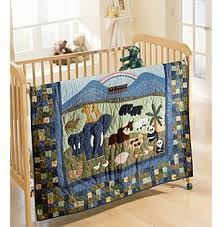 Noah's Ark Baby Bedding Quilt Collection by Donna Sharp ~ Black ... & Noah's Ark Baby Bedding Quilt Collection by Donna Sharp Adamdwight.com