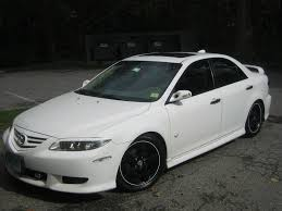 mazda 6 2004 white. mazda 6 2004 white autowpapers cool cars wallpapers