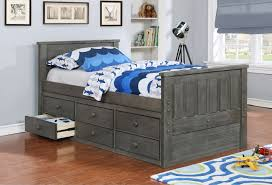 kids beds with storage. Kids Bed Frame With Drawers Bedroom Trundle Beds Twin Captains Stor Storage A