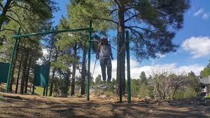 outdoor gymnastics rings muscle up workout