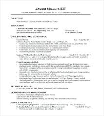 Entry Level Civil Engineer Resume Gorgeous Civil Engineering Student Resume Template Mechanical Orlandomovingco