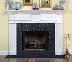 blue pearl fireplace surround columbia traditional fireplace mantel with blue pearl granite
