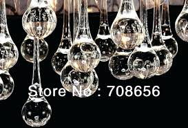 chandeliers teardrop glass chandelier clear prism lamp pendant free brass and eight light