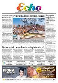 The Byron Shire Echo – Issue 34.25 – November 27, 2019 by Echo Publications  - issuu