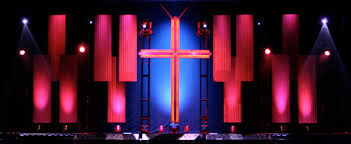 Church Stage Design Ideas Siding And Crosses
