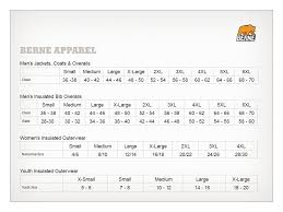 54 Meticulous Berne Bib Overall Size Chart