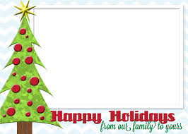 Happy Holiday Card Templates Happy Holidays Post Cards Clipart Images Gallery For Free