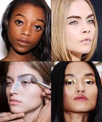 makeup trend glitter