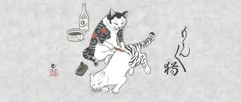 Cats Tattooing Other Cats By Kazuaki Horitomo Spoon Tamago