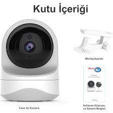 C4U Akıllı Güvenlik Kamerası 360 Derece Dönebilen Kızılötesi Fiyatı