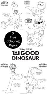 Disney Pixar The Good Dinosaur Colouring
