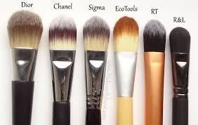 mac liquid foundation brush. review + comparison: battle of the flat paddle foundation brushes mac liquid brush o