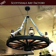 wagon wheel chandelier chandeliers for mason jar diy