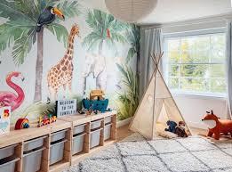 jungle theme bedroom