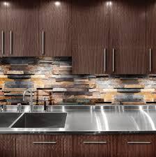 Slate Wall Tiles Kitchen Anatolia Tile Oxide Ledgestone Slate Wall Tile Common 6 In X 12