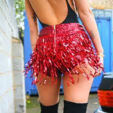 <b>Yollmart</b> 2019 <b>New</b> Arrival Club Sexy Women Sequins Shorts Tassel ...