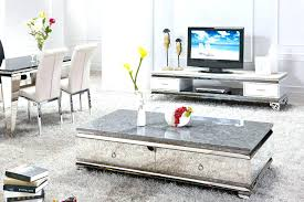 marble tv stand marble stand matching stand and coffee table table set marble mirrored coffee table