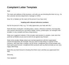 Responding To Customer Complaints Template
