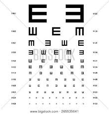 Vector Eye Test Chart Vector Photo Free Trial Bigstock