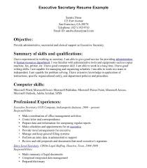 Resume For Secretary Position] Professional Secretary Templates To .