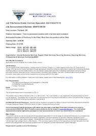 contract specialist resume template contract specialist resume