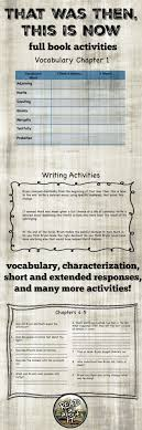 images about k book activities making this is a 17 page packet filled discussion questions for each chapter vocabulary words and definitions for each chapter test questions and writing