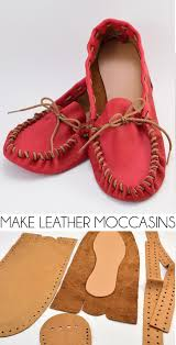 ever wanted to make shoes i had no idea it was so easy to make leather moccasins