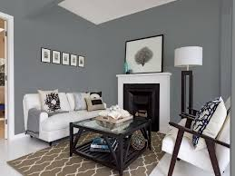 Painted Living Room Gray Walls Living Room House Living Room Design