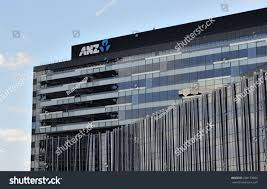 anz melbourne office. MELBOURNE, AUSTRALIA - March 4, 2015: ANZ Bank Headquarters In Docklands On The Anz Melbourne Office