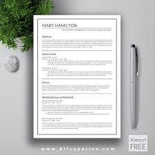 Resume Template Indesign Free Cv Template Indesign 67