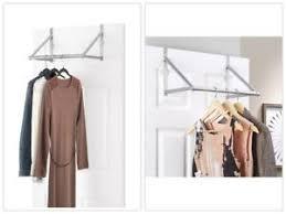 cloth hanger rack. Delighful Hanger Image Is Loading OverTheDoorClosetHangingRodGarmentHanger To Cloth Hanger Rack I