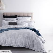 nord silver super king bed quilt cover set by royal doulton australian size