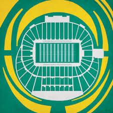 Autzen Stadium Seating Chart Autzen Stadium Map Art