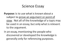 basic science communication skills dr kate barry dept biological  science essay purpose is to use what is known about a subject to prove an