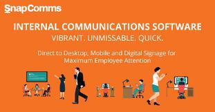 Internal Communication Strategy Example Snapcomms